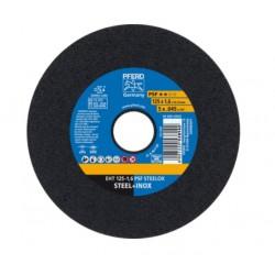 Nerūsējošā tērauda griešanas disks PFERD EHT 125x1,6mm A46 P PSF-INOX
