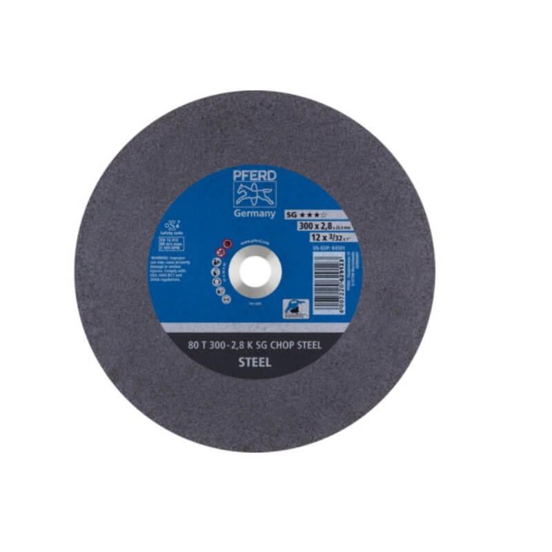 80T Ø300-2,8A36K SG-CHOP griešanas disks 25,4 PFERD
