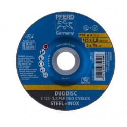 Griešanas un slīpēšanas disks PFERD E125-2.8 A46 P PSF-INOX-DUO