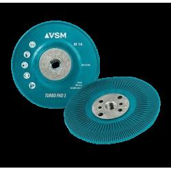 Cieta pamatne fibro diskiem VSM ZFT3 125xM14