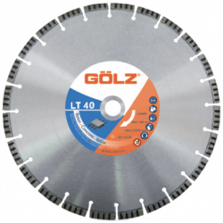 Dimanta disks betonam GOLZ LT40 350x25,4mm