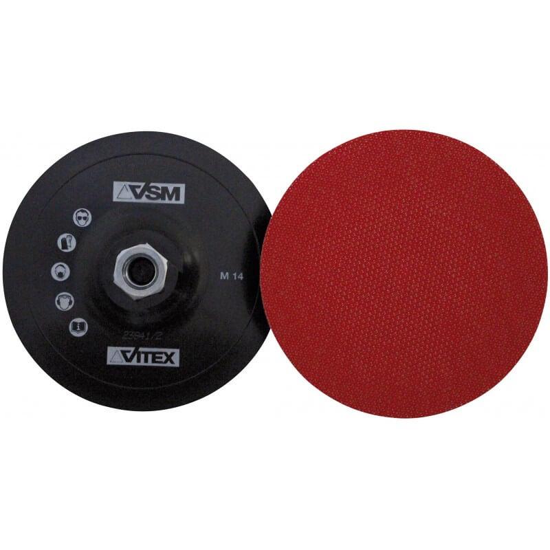 Disks ar līpošu pamatni Ø125 mm M14 VSM ZKL