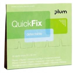 Plāksteri ar metāla lenti PLUM QuickFix, 45 gab.
