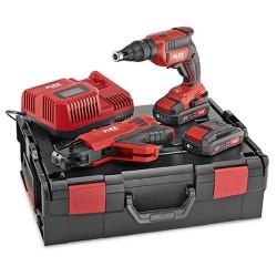 Akumulatora skrūvgriezis ar automātisko skrūvju padevi FLEX DW 45 18,0-EC M/2,5 Set