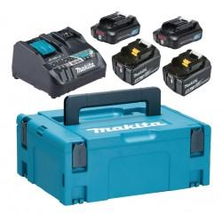 Akumulatoru un lādētāja komplekts MAKITA PowerPack LXT/CXT