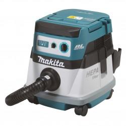 Akumulatora putekļu sūcējs MAKITA DVC863LZ
