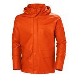 Ūdensizturīga jaka HELLY HANSEN Gale Rain, oranža