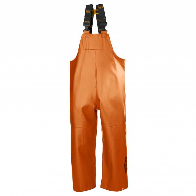 Neizmirkstošas bikses HELLY HANSEN Gale Rain Bib, oranžas