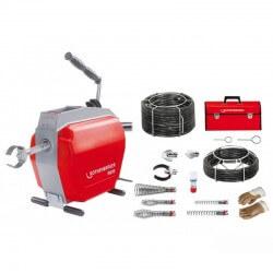 R600 cauruļu tīrīšanas ierīce ar spirāļu komplektu 16+22 mm ROHTENBERGER