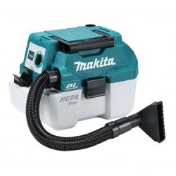 Akumulatora putekļu sūcējs MAKITA DVC750LZ