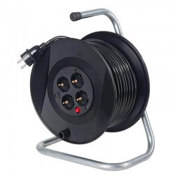Pagarinātājs 25m H05VV-F 3G1,5 AS-SCHWABE