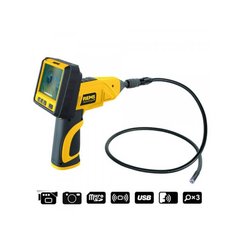 Cauruļvadu caurskatīšanas kamera REMS CamScope S Set 9-1