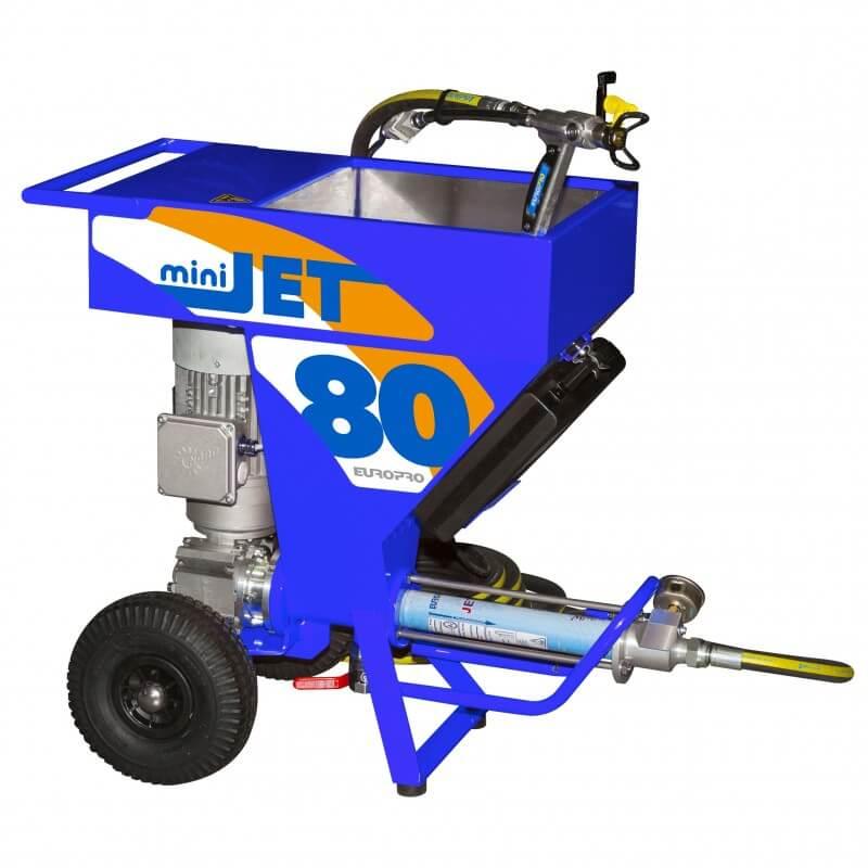 Apmetuma un krāsu izsmidzināšanas iekārta EUROMAIR Minijet 80