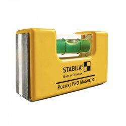 Līmeņrādis STABILA 101 POCKET PRO Magnetic CLIP