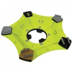 Slīpēšanas disks WOLFF Samba Ninja ar BT K20 segmentiem