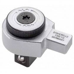 "Tirkšķatslēga dinamometriskajai atslēgai STAHLWILLE 735/10 1/2"""
