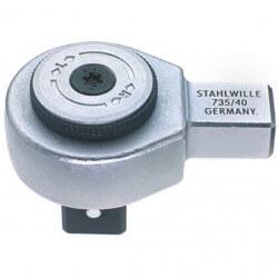 "Tirkšķatslēga dinamometriskajai atslēgai STAHLWILLE 735/40 3/4"""
