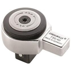 "Tirkšķatslēga dinamometriskajai atslēgai STAHLWILLE 735/40HD 3/4"""