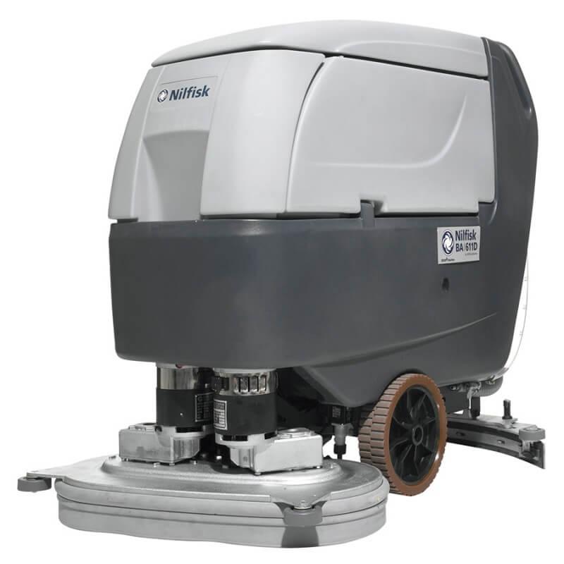 Akumulatora grīdas mazgāšanas iekārta NILFISK BA 611 D