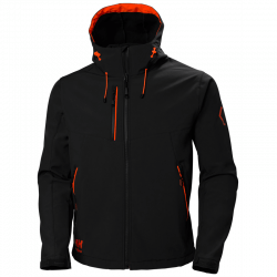 Jaka HELLY HANSEN Chelsea Evolution Hooded Softshell, melna