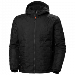 Jaka HELLY HANSEN Kensington Hooded Lifaloft, melna