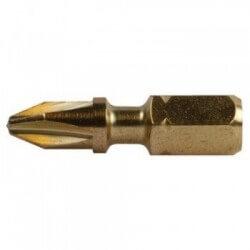 Torsion skrūvēšanas uzgaļi PH 2–25 mm (2 gab.) MAKITA B-28503
