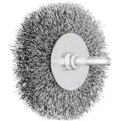 Metāla birstīte ar kātiņu 80x15 mm PFERD RBU ST 0,3