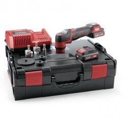 Akumulatora ekscentriskais pulētājs PXE 80 10,8-EC/2,5 Set