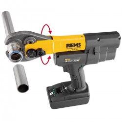 Cauruļu presēšanas instruments Mini-Press 22V ACC REMS