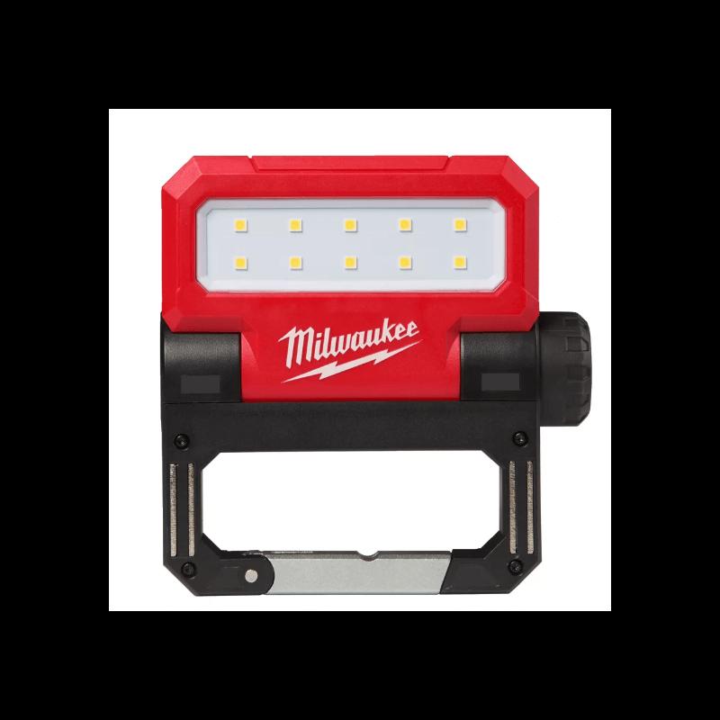 Ar USB uzlādējams prožektors MILWAUKEE L4 FFL-201