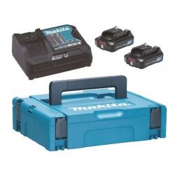 Akumulatoru un lādētāja komplekts MAKITA PowerPack 10,8V 2,0Ah