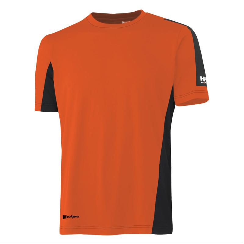 T krekls Lifa-Cool Odense HELLY HANSEN, oranžs