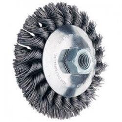 Metāla birstīte 115x15 mm PFERD KBG 0,5 M14