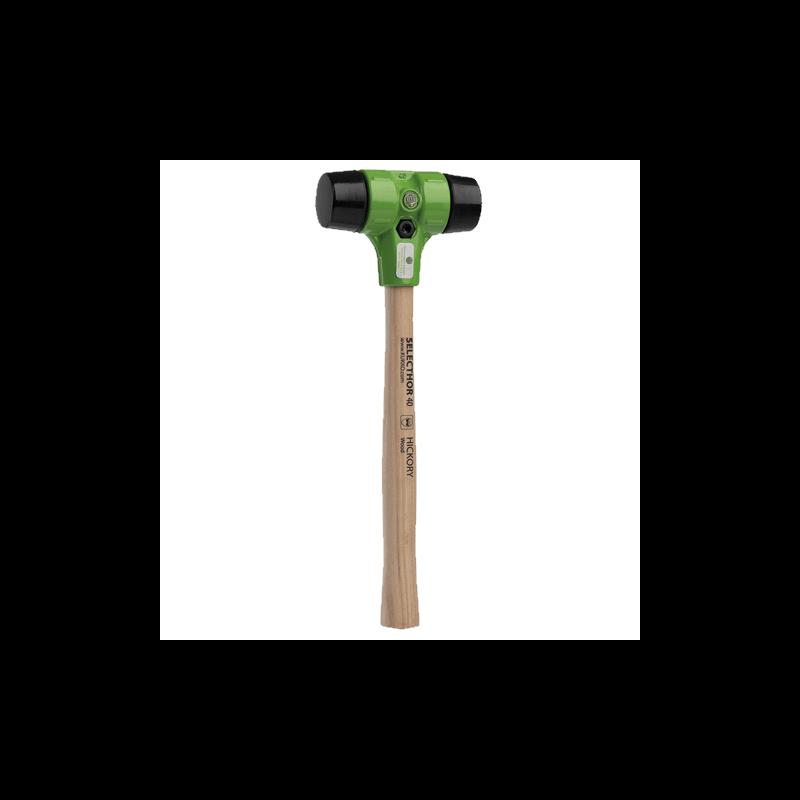 Neatlecošs gumijas āmurs KUKKO Selecthor Ø40mm