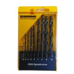HSS urbju komplekts GUHRING Powerline 1–10 mm