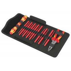 17 daļu instrumentu komplekts elektriķiem WERA KK VDE 17 Extra Slim 1