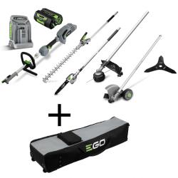 Daudzfunkcionāls dārza instrumentu komplekts EGO Power+ MHSC2002E ar dāvanu