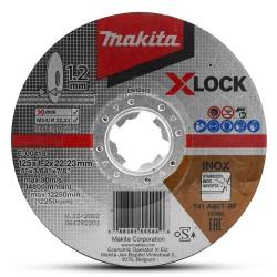 Griešanas disks MAKITA X-Lock 125x1,2mm RST