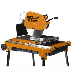 Griešanas darba galds GOLZ MS400 celtniecības materiāliem