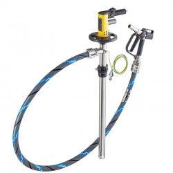 Mucu un tvertņu pneimatiskā sūkņa komplekts LUTZ Set Ex, 1200 mm