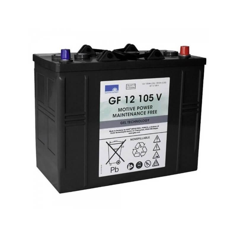 Gela akumulators mazgāšanas/slaucīšanas iekārtām NILFISK 12V 105Ah