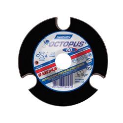 Slīpēšanas disks SAINT GOBAIN OCTOPUS 125x4x22.2 A60T