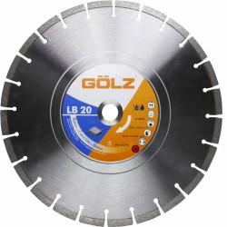 Universāls dimanta disks GOLZ LB20351 350x25,4mm