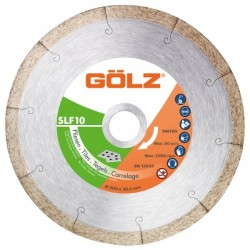 Dimanta disks keramikai GOLZ SLF10 Ø200x25,4mm