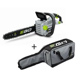 Akumulatora ķēdes zāģis EGO Power+ CS1800E ar somu