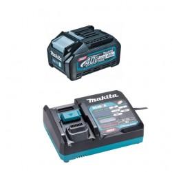 Akumulatora un lādētāja komplekts MAKITA 40V Max XGT 4,0Ah