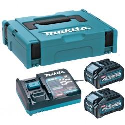 Akumulatora un lādētāja komplekts MAKITA 40V Max XGT 2x4,0Ah