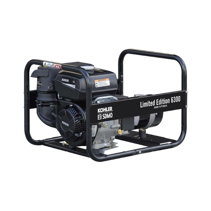 Elektrības ģenerators SDMO Limited Edition 6300