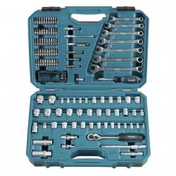 120 daļu rokas instrumentu komplekts MAKITA E-06616