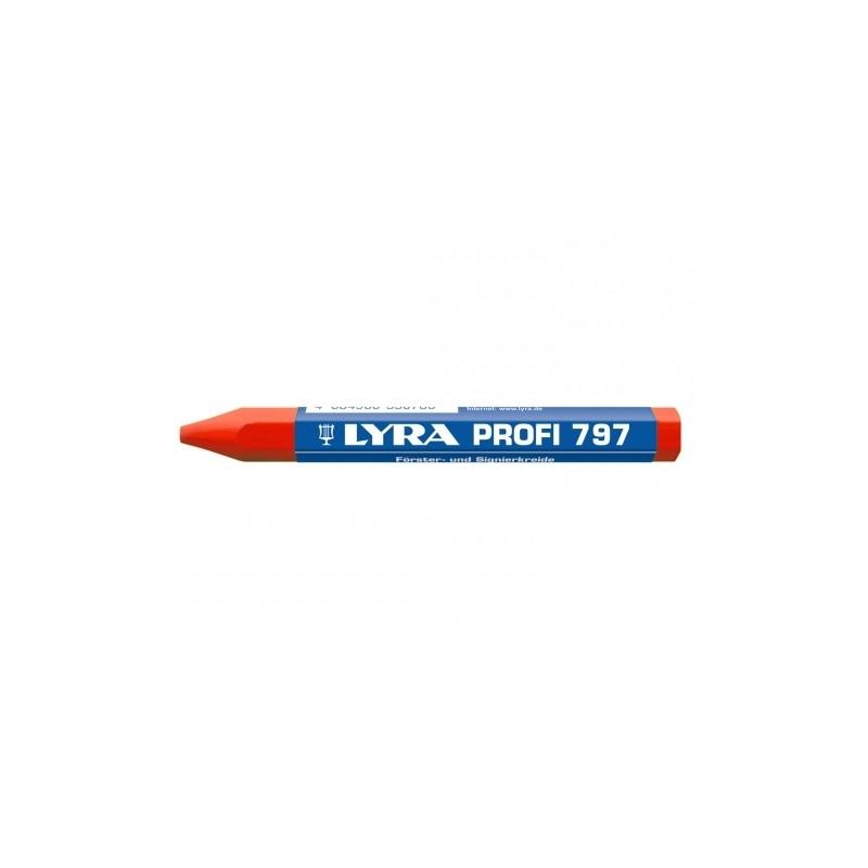 Krīts LYRA Profi 797, sarkans
